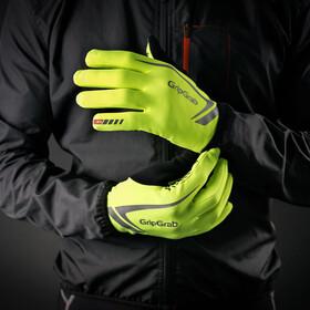 GripGrab Running Expert Hi-Vis Handschuhe fluo yellow